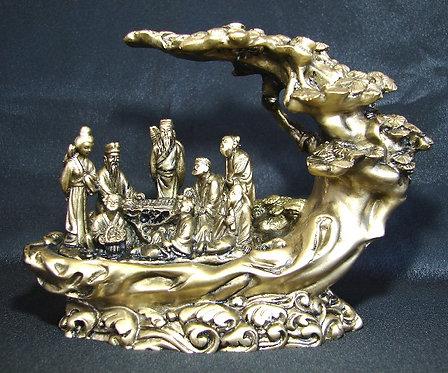 Eight Daoist Immortals under Tree of Knowledge