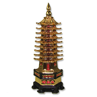 Golden 9 Floored Heaven Pagoda
