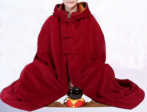 Red Meditation Cloak