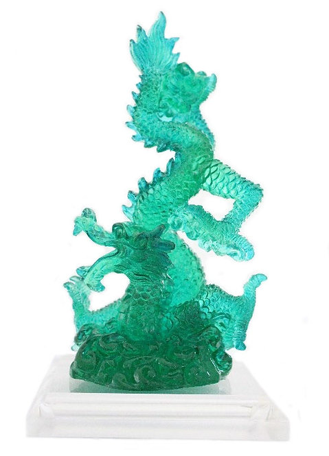 Green Resin Dragon