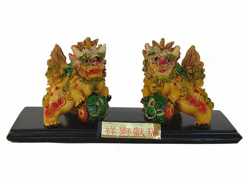 Artistic Northern Styled Foo Dogs