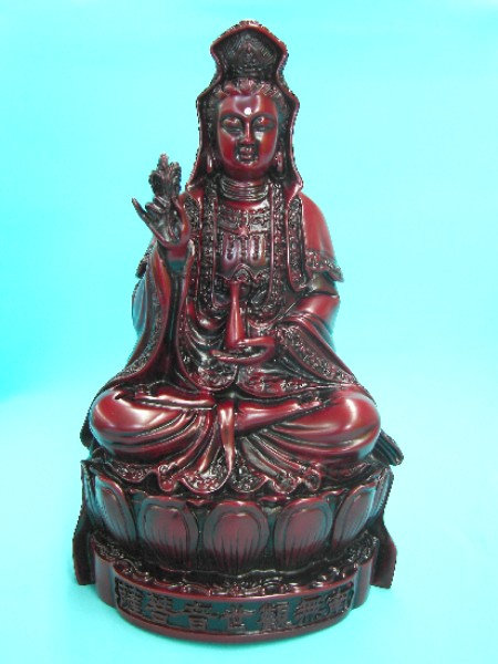 Red Resin Guan Yin