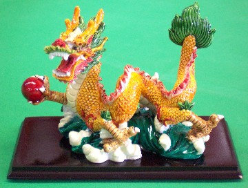 Yellow Dragon Rides The Water