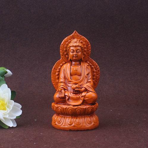 Miniature Glazed Buddha