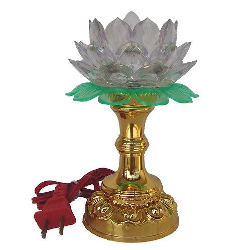Clear Lotus Lamp