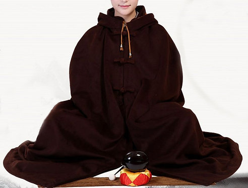 Dark Brown Meditation Cloak