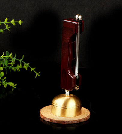 Meditation Bell with Wooden Handle