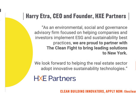 HXE Joins the Clean Fight New York as an Inaugural Partner