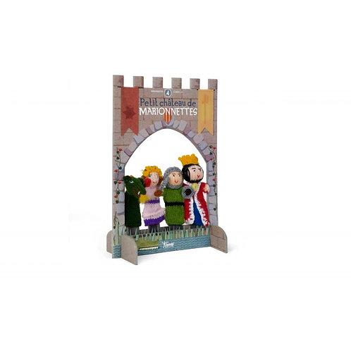 Marionnettes à doigts . Château