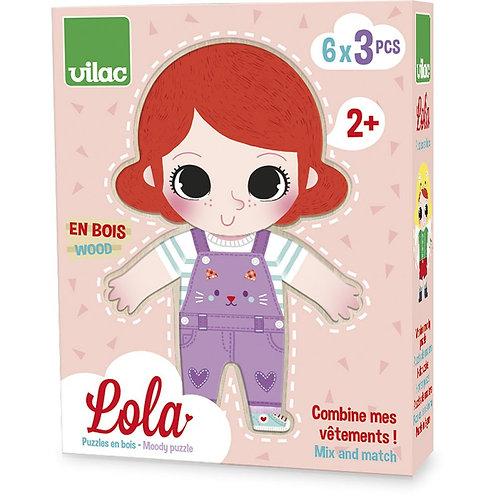 Lola à habiller