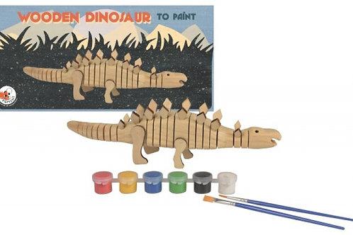 Dinosaure à peindre