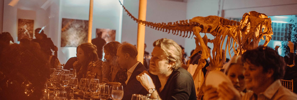 Dinner with Dinosaurs Wynwood Granada Gallery