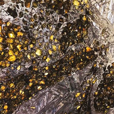 Pallasite Granada Gallery Mineral