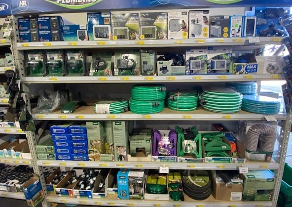 Hoses, timers and accessories