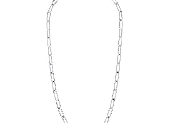Mask Necklace-Paperclip Chain