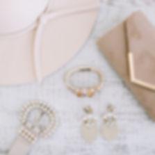 La Crème St Jacobs Hat, Belt Bracelet Handbag