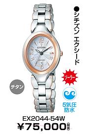 シチズンエクシード_24② ¥52,500円(税抜)