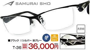 T-36 ¥36,000円(税抜)