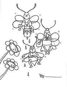Copy of ColoringPage - Bee - Revised (1)