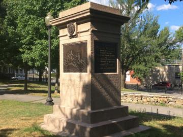 Roger Williams Landing Monument Re-dedication