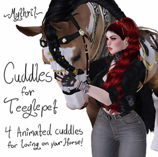 ~Mythril~ Poses: Cuddle actions!