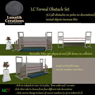 Lunatik Creations - Formal Obstacle Set