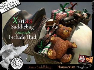 ABSOLUT CREATIONS - Xmas SaddleBag