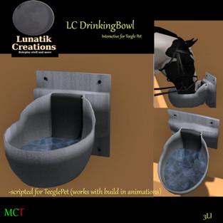 Lunatik Creations - Drinking Bowl