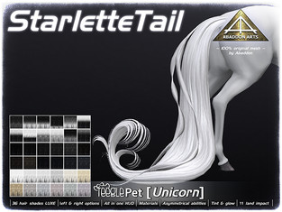 ABADDON ARTS - Starlette Tail LUXE