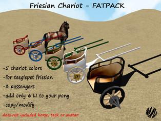 Striped Moon - Friesian Chariot