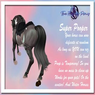 The Flying Pony - Super Pooper