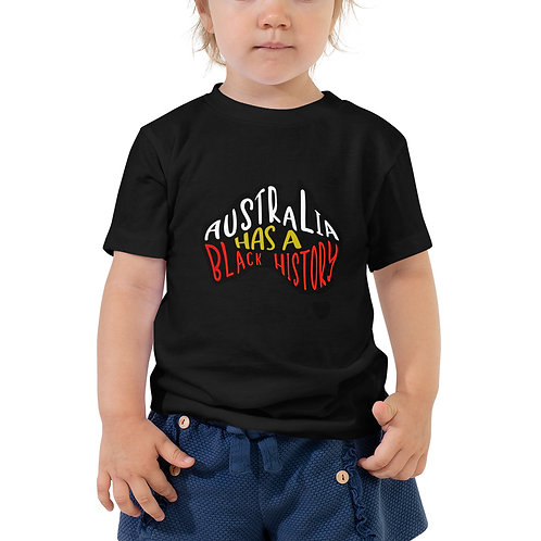 Toddler Unisex Black History T-Shirt