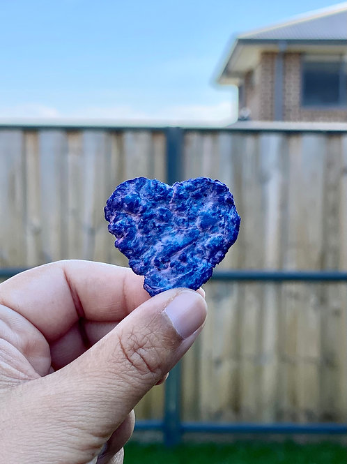 Recycled Seeded Paper Heart (Linaria seeds)