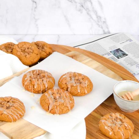 Kaneel crumble koekjes