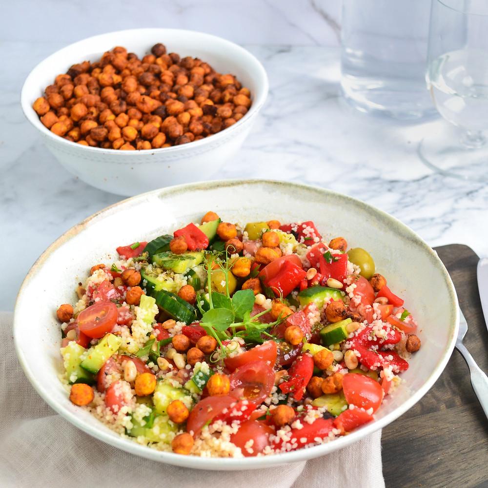 Gezonde Mediterraanse salade