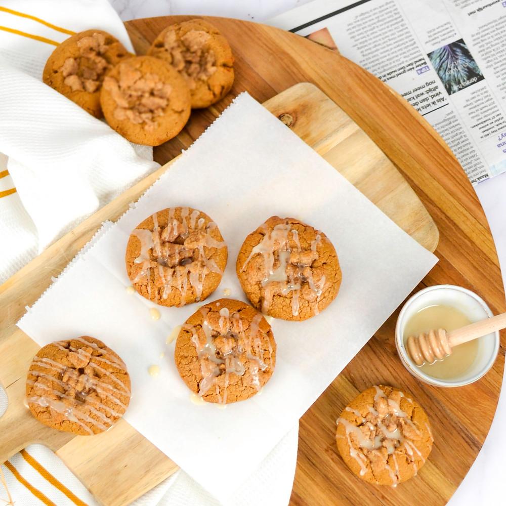 Kaneel koekjes met crumble