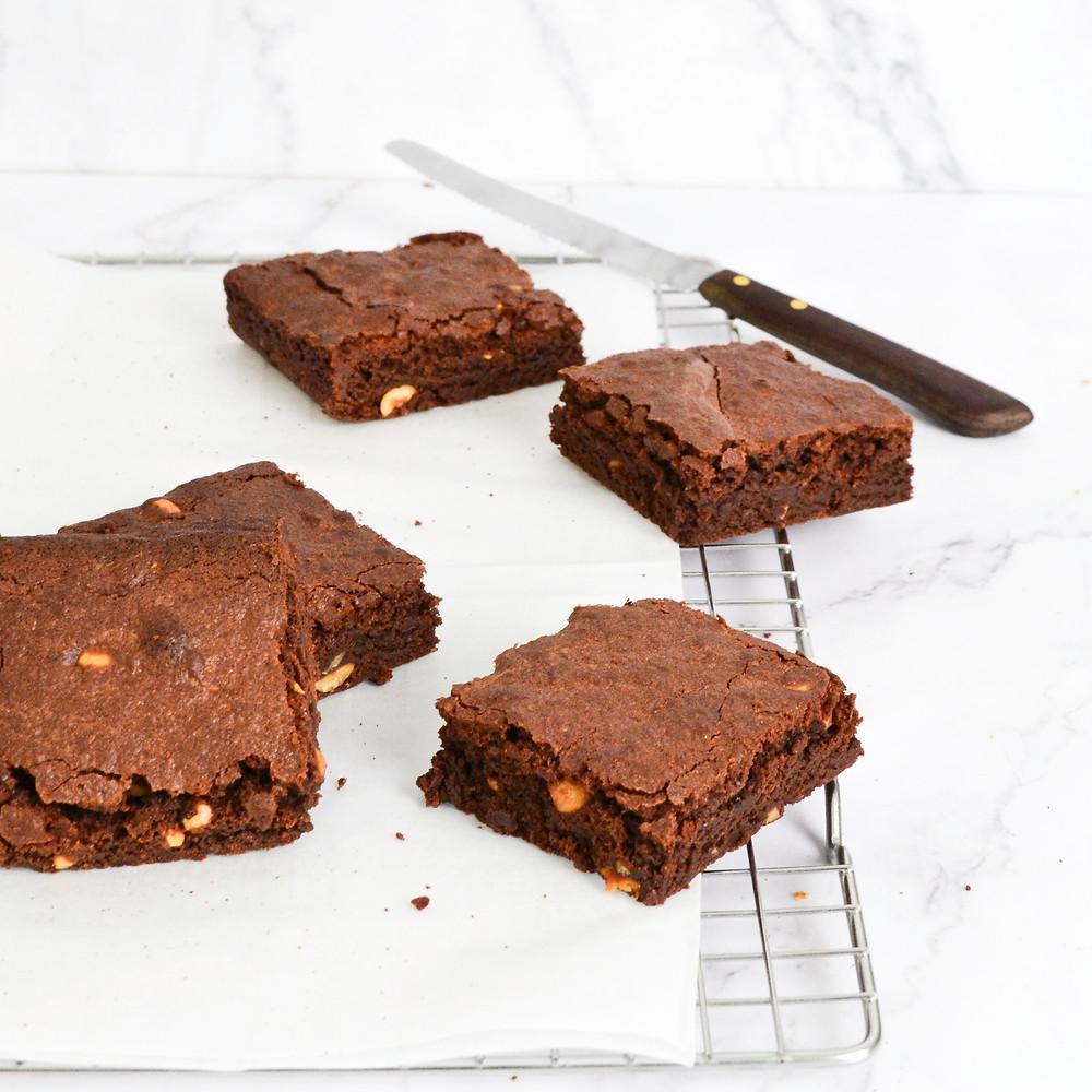 Hazelnoot brownies