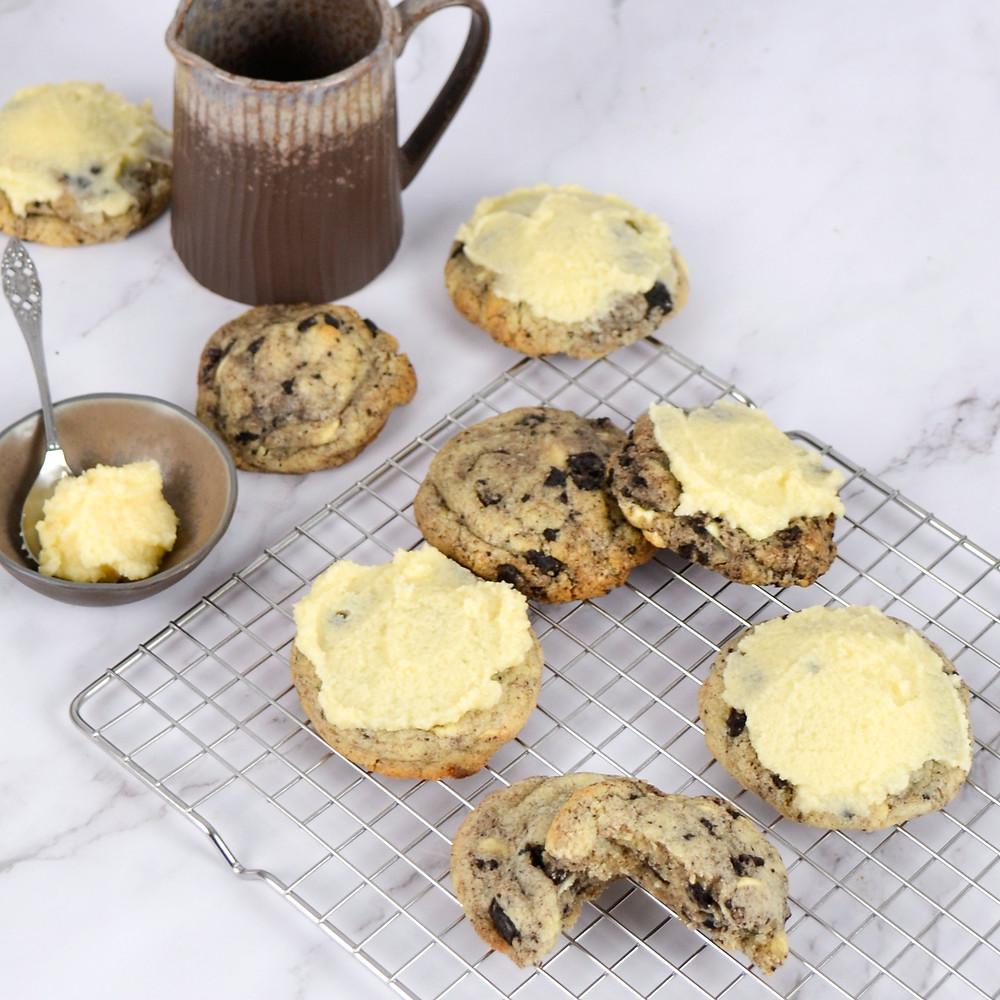 Cookies en cream milkshake cookies