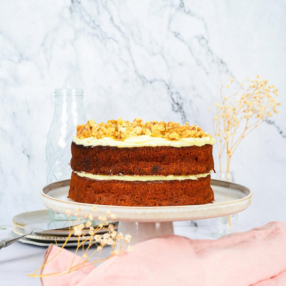 Dubbele carrot cake