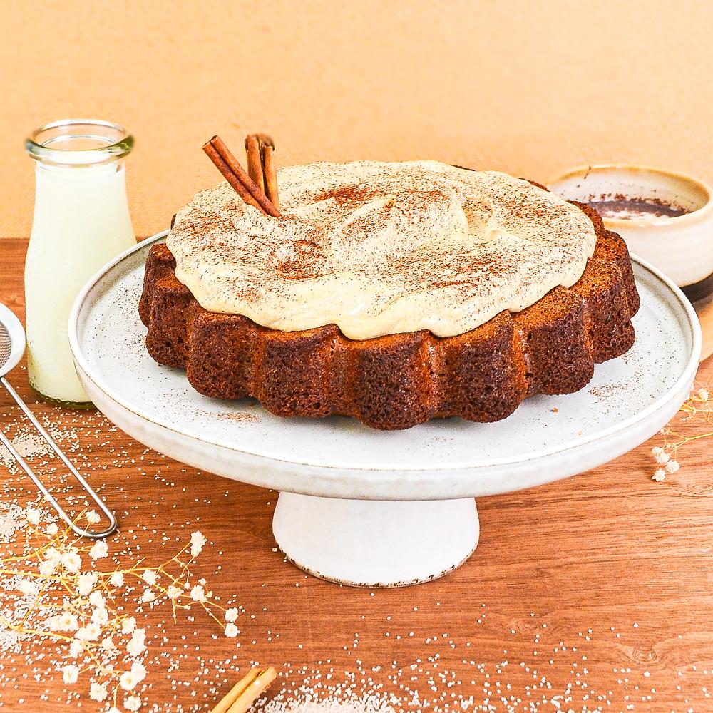 Vanille chai cake