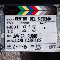 """Rodaje cortometraje """"Dentro del sistema"""" producido por Easy Cure y dirigido por Fco. Javier Rubio"""