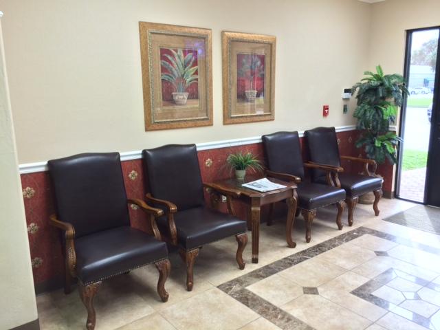 Spacious Waiting  Room