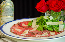 Beef Carpaccio with Shaved Parmesan and