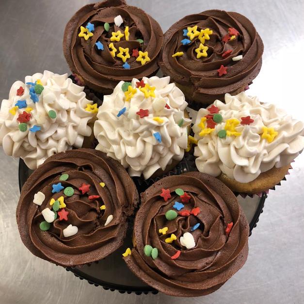 Freedom Cupcakes
