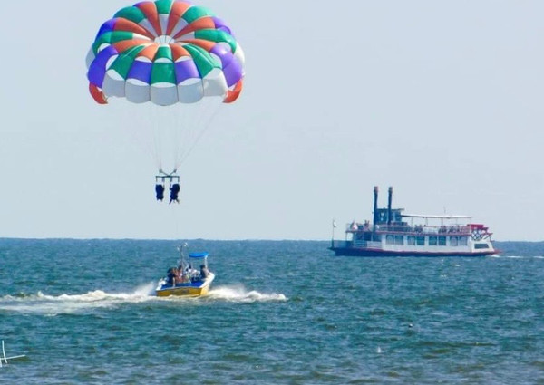 Fly with Parasail Adventures Today! $65 Per Person!