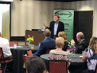 Execution Eats Strategy For Breakfast at the May Chamber Luncheon!