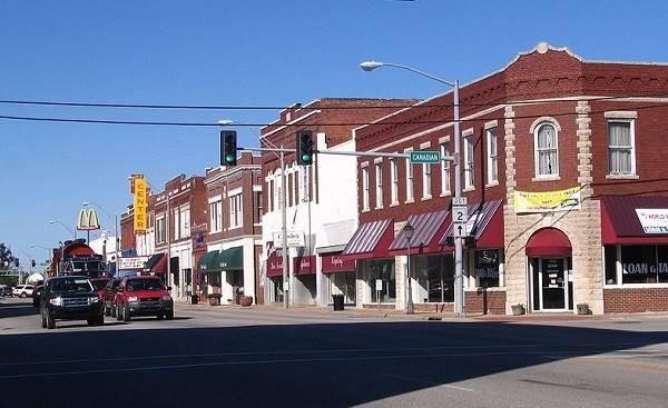 Historical Downtown Vinita Ok
