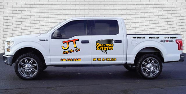 Ford F150 Sales Truck graphics