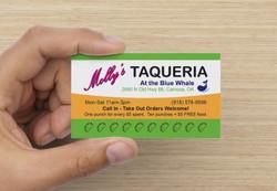 Restaurant Punch Card