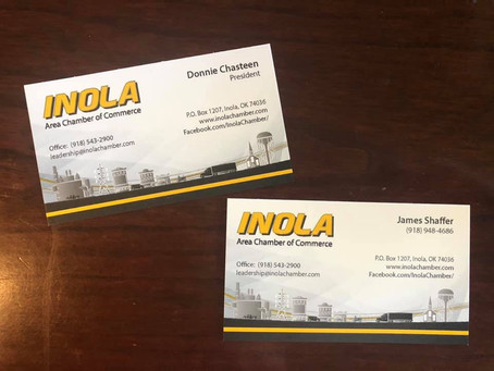 Continued Partnering with the Inola Area Chamber of Commerce